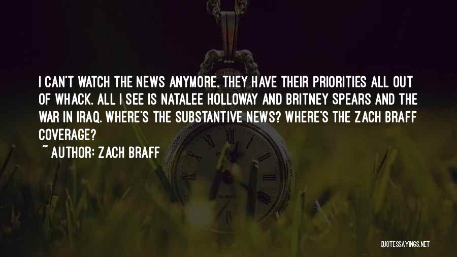 Natalee Holloway Quotes By Zach Braff
