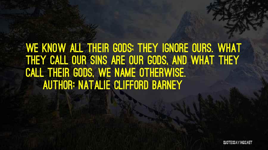 Natalie Clifford Barney Quotes 1525736