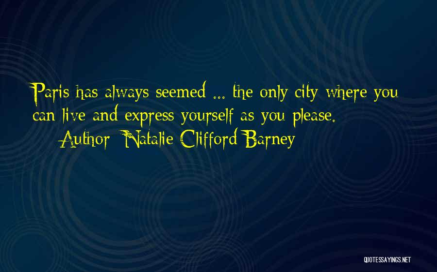 Natalie Clifford Barney Quotes 160006