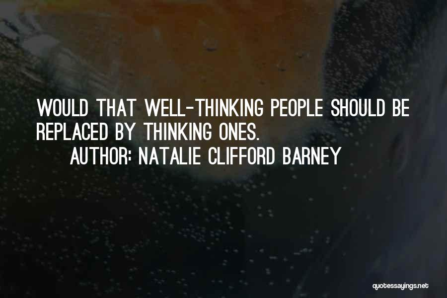 Natalie Clifford Barney Quotes 1729935