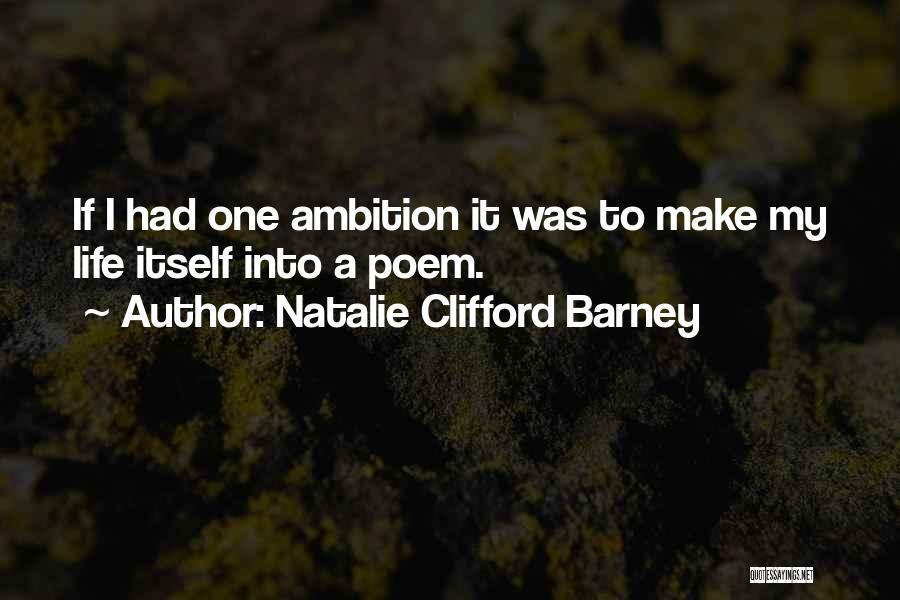 Natalie Clifford Barney Quotes 2072819