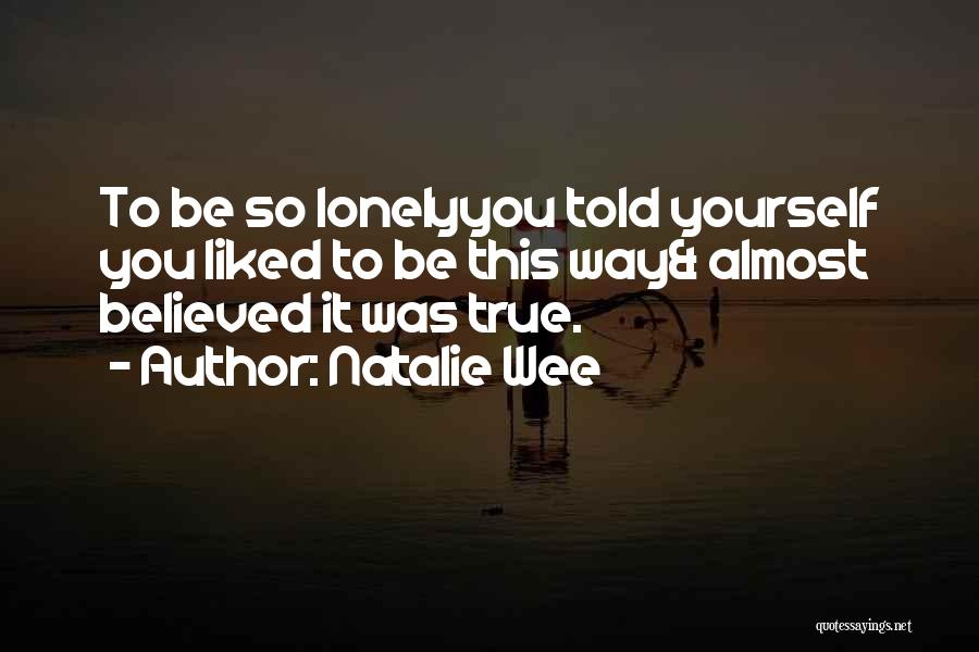 Natalie Wee Quotes 1345957