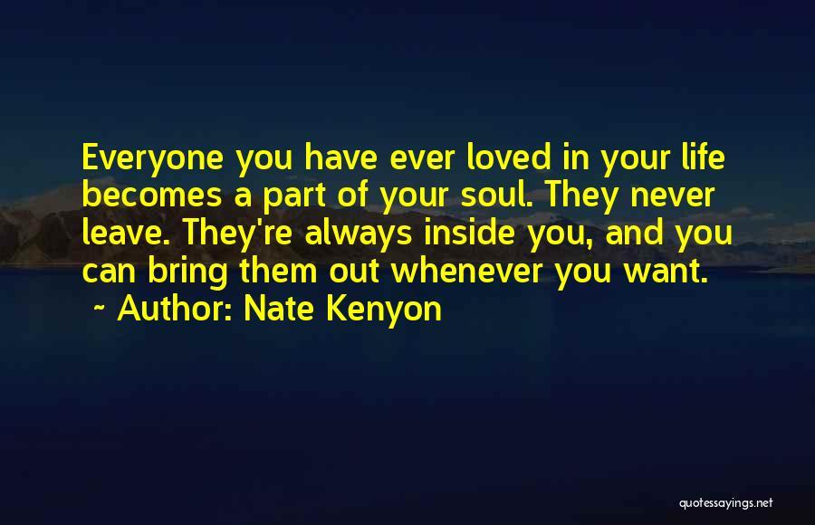 Nate Kenyon Quotes 1958618