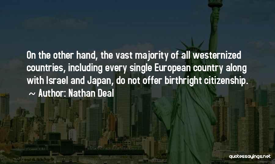 Nathan Deal Quotes 1059517