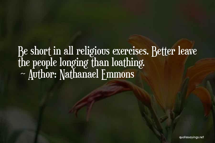 Nathanael Emmons Quotes 1575232