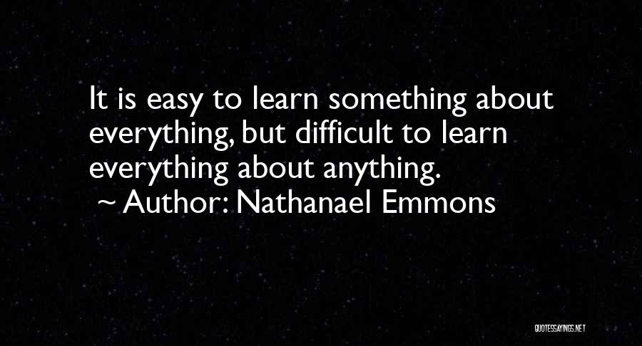 Nathanael Emmons Quotes 2218856