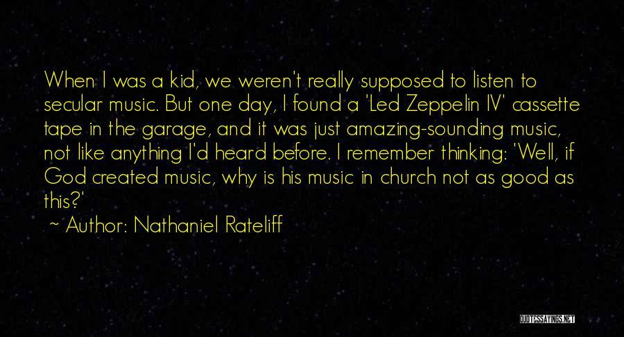 Nathaniel Rateliff Quotes 600418