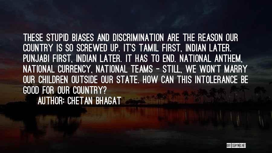 National Anthem Quotes By Chetan Bhagat