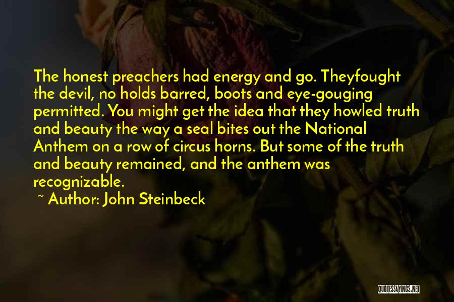 National Anthem Quotes By John Steinbeck