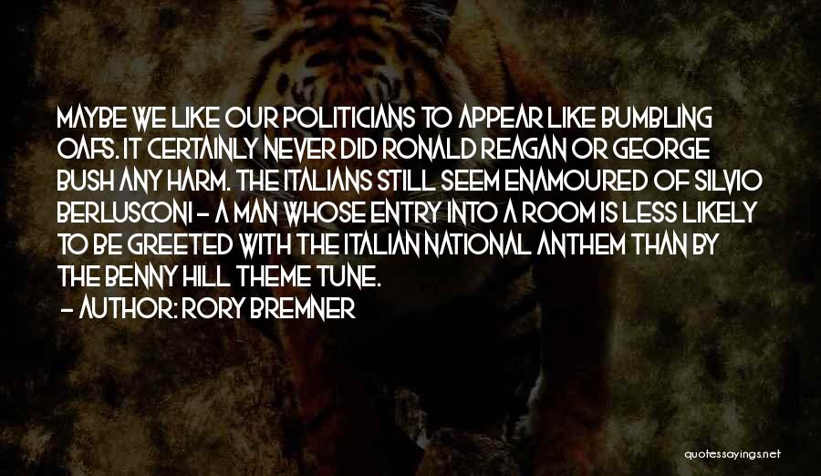 National Anthem Quotes By Rory Bremner