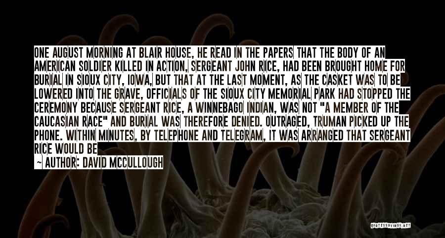 National Cemetery Quotes By David McCullough