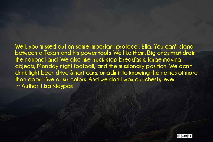 National Grid Quotes By Lisa Kleypas