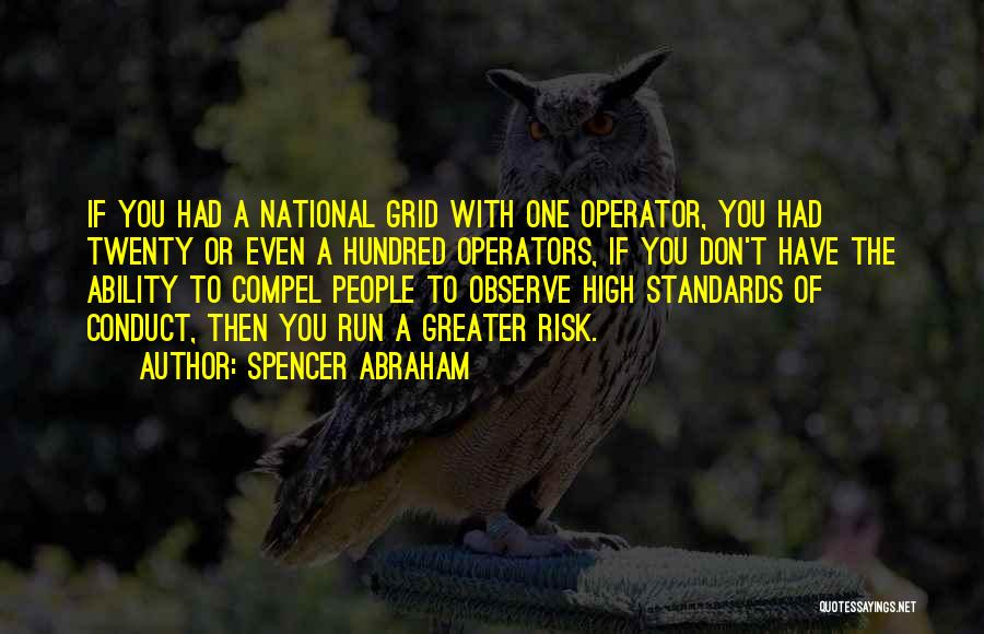National Grid Quotes By Spencer Abraham