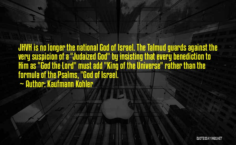 National Guards Quotes By Kaufmann Kohler