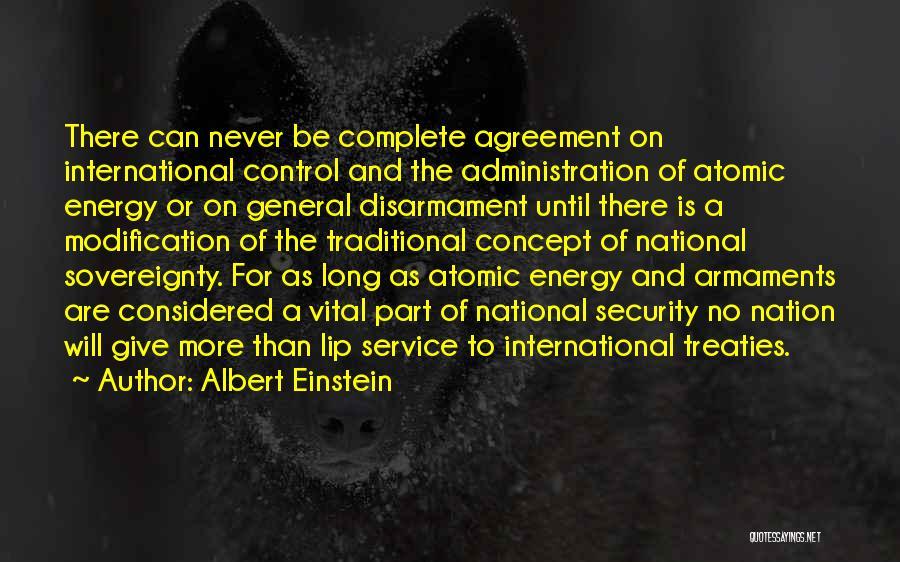 National Service Quotes By Albert Einstein