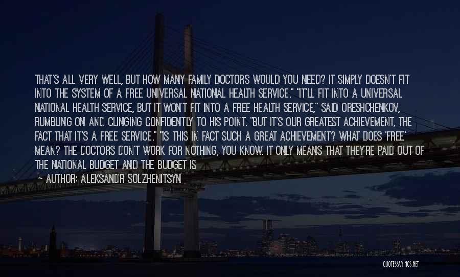 National Service Quotes By Aleksandr Solzhenitsyn