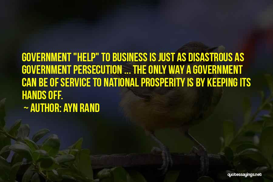 National Service Quotes By Ayn Rand