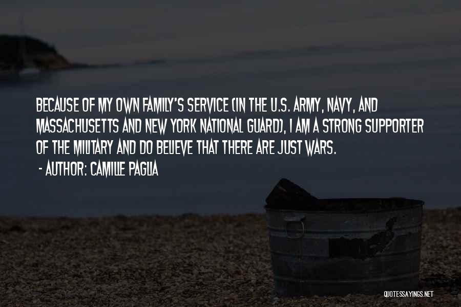 National Service Quotes By Camille Paglia