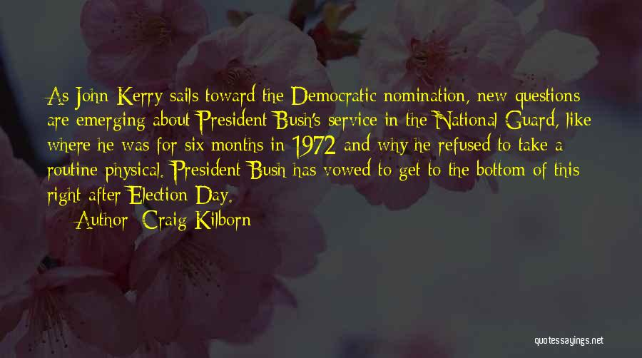 National Service Quotes By Craig Kilborn