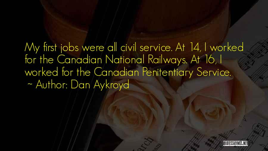 National Service Quotes By Dan Aykroyd