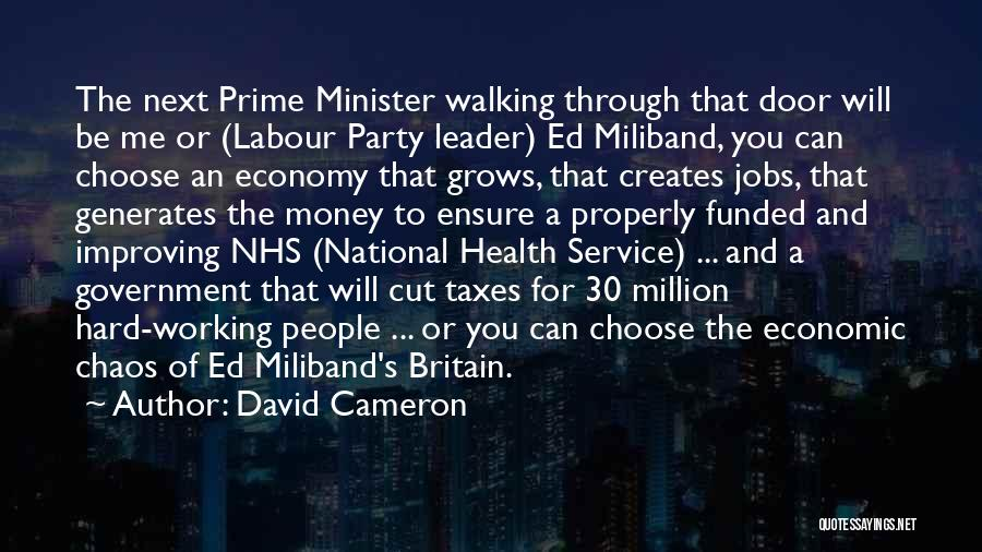 National Service Quotes By David Cameron