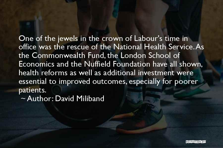 National Service Quotes By David Miliband