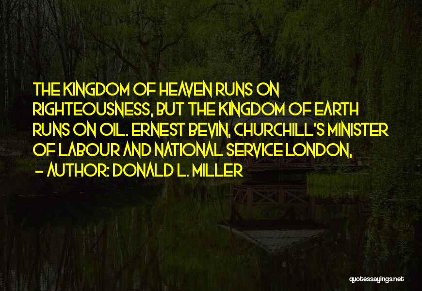 National Service Quotes By Donald L. Miller