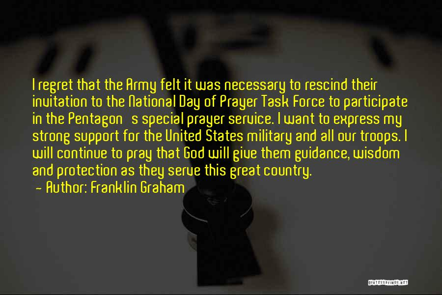 National Service Quotes By Franklin Graham