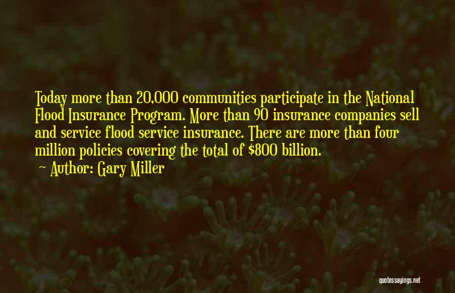 National Service Quotes By Gary Miller