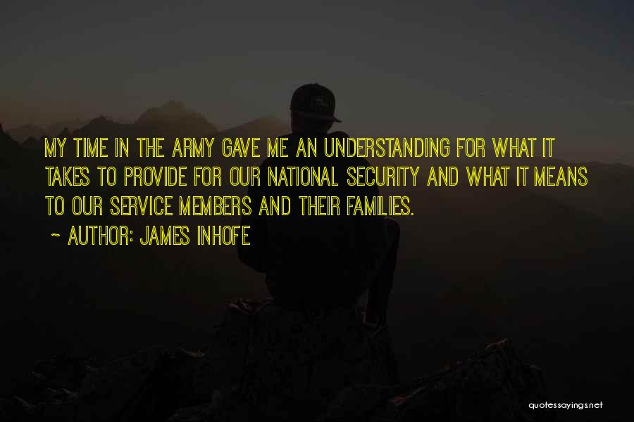 National Service Quotes By James Inhofe