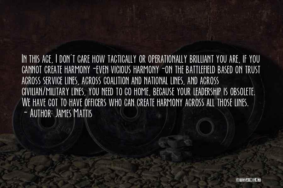 National Service Quotes By James Mattis
