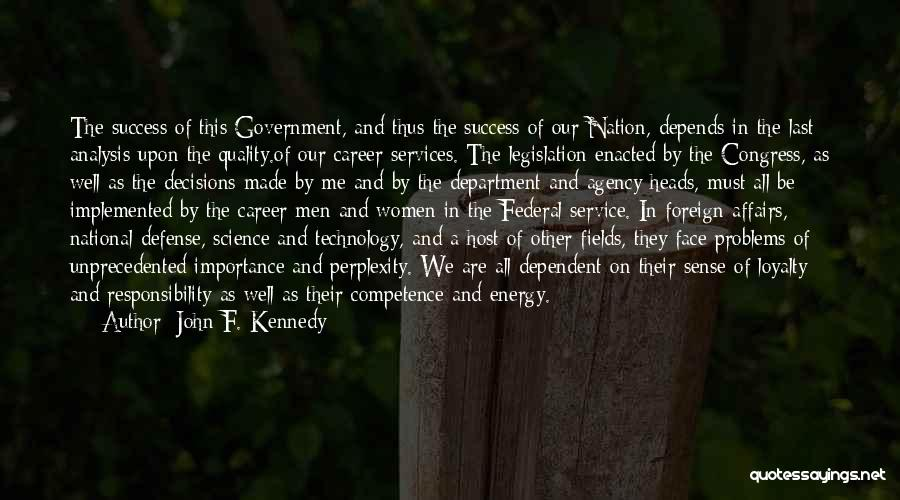National Service Quotes By John F. Kennedy