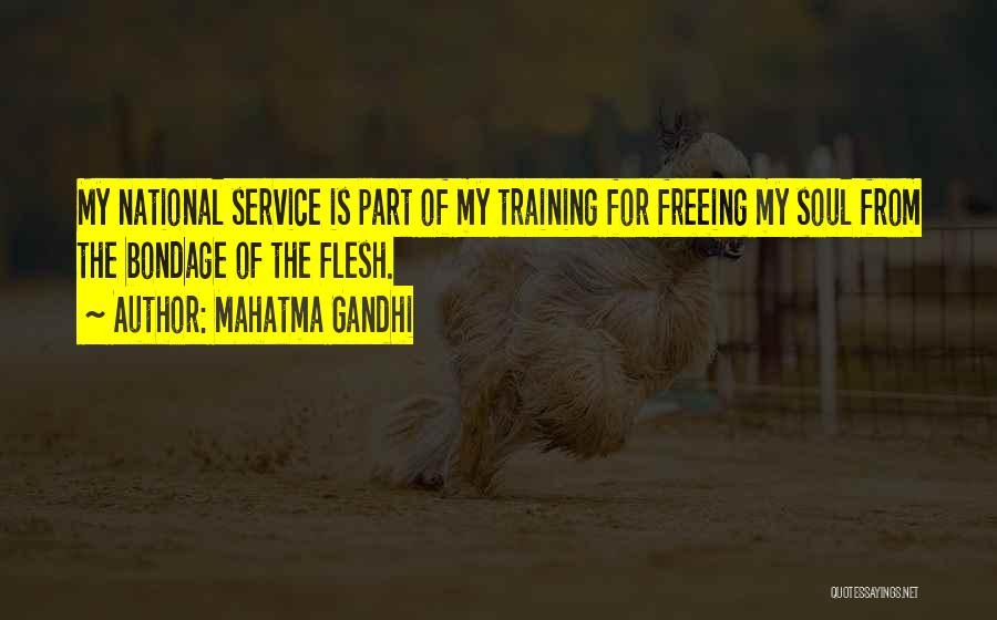 National Service Quotes By Mahatma Gandhi