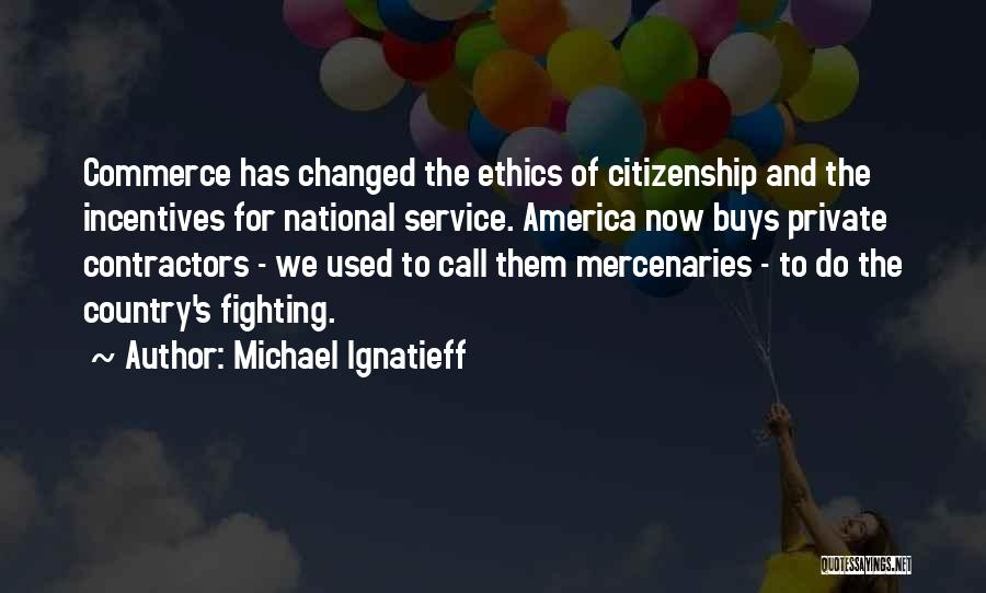 National Service Quotes By Michael Ignatieff