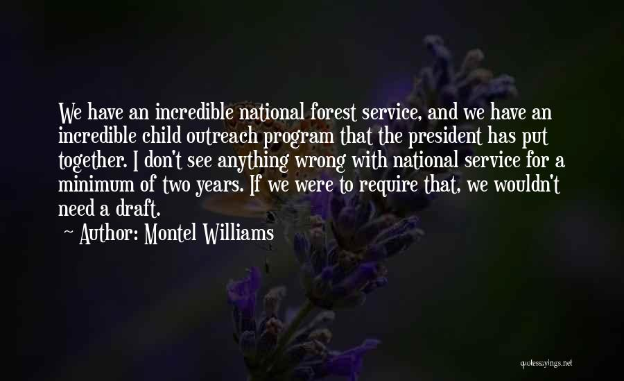 National Service Quotes By Montel Williams