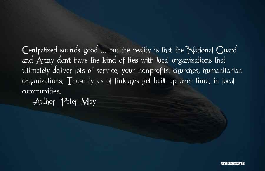 National Service Quotes By Peter May