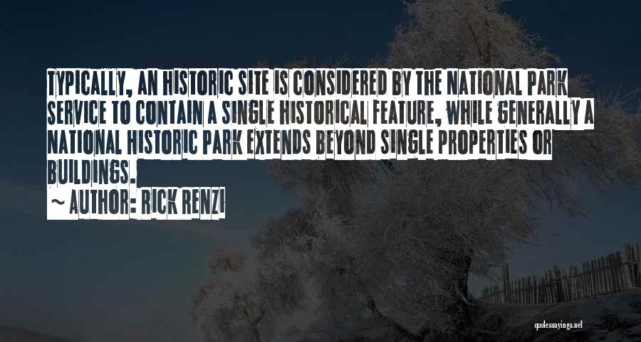 National Service Quotes By Rick Renzi