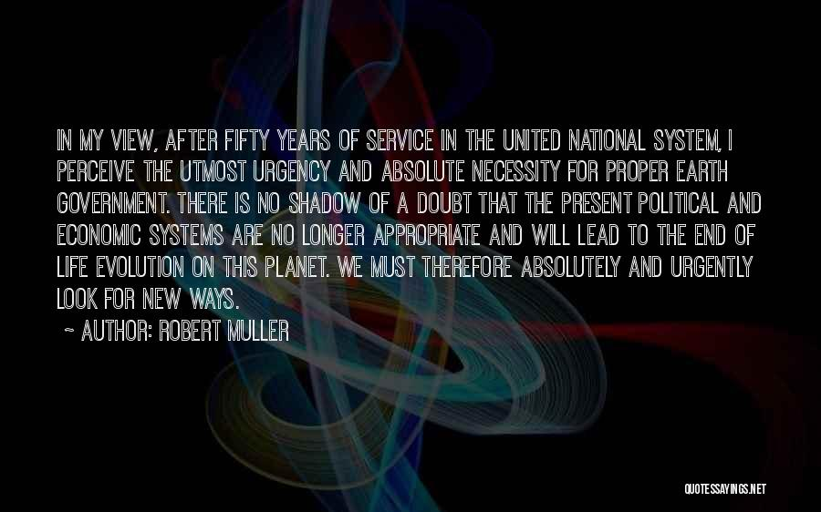 National Service Quotes By Robert Muller