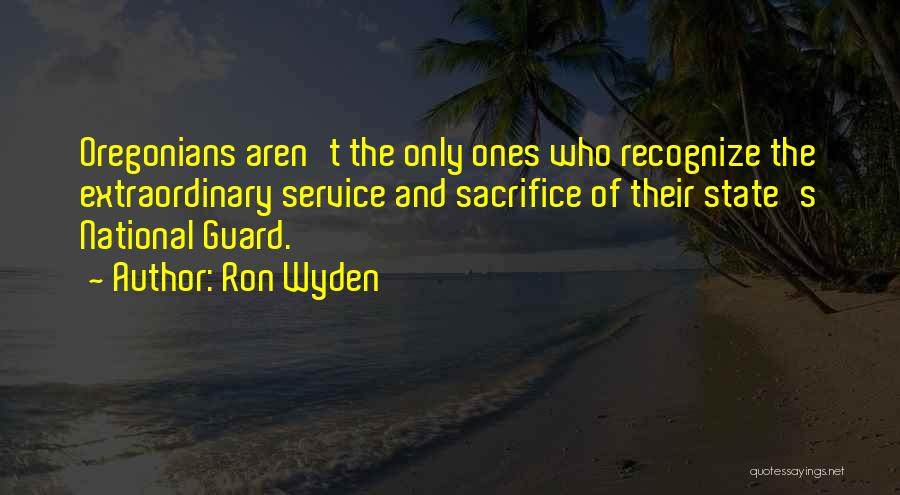 National Service Quotes By Ron Wyden