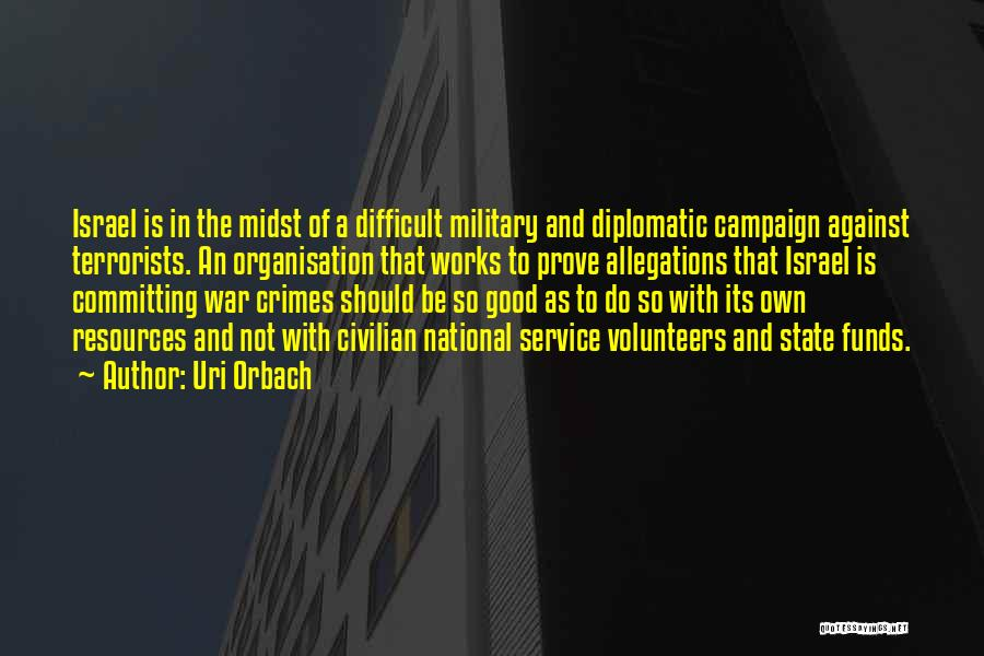 National Service Quotes By Uri Orbach