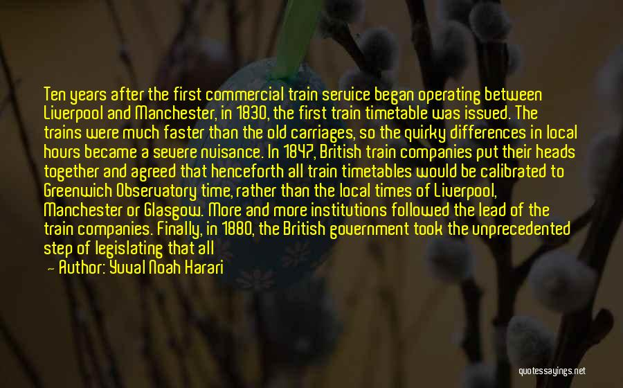 National Service Quotes By Yuval Noah Harari