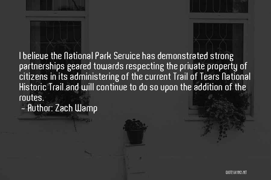 National Service Quotes By Zach Wamp