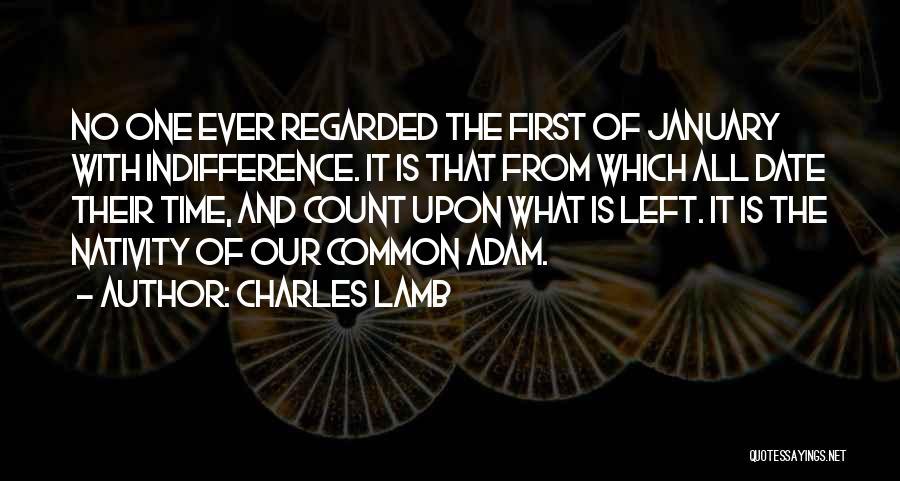 Nativity 2 Quotes By Charles Lamb