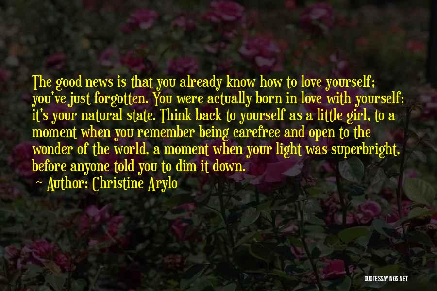 Natural News Quotes By Christine Arylo