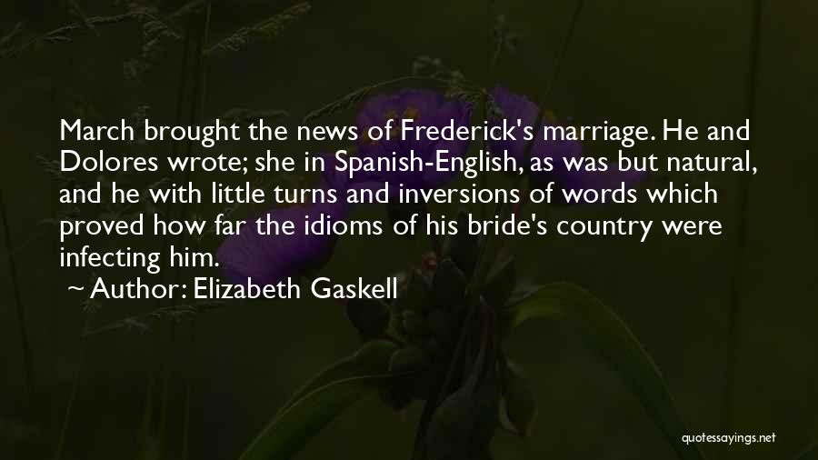 Natural News Quotes By Elizabeth Gaskell