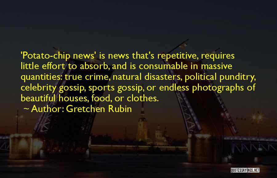 Natural News Quotes By Gretchen Rubin