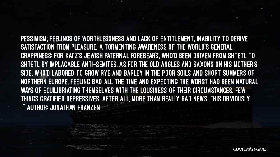 Natural News Quotes By Jonathan Franzen