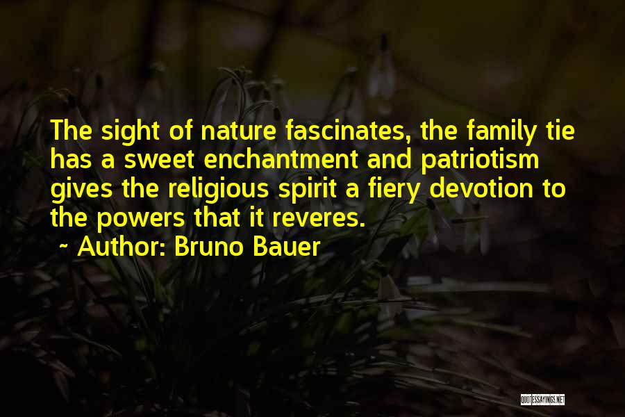 Nature And Family Quotes By Bruno Bauer