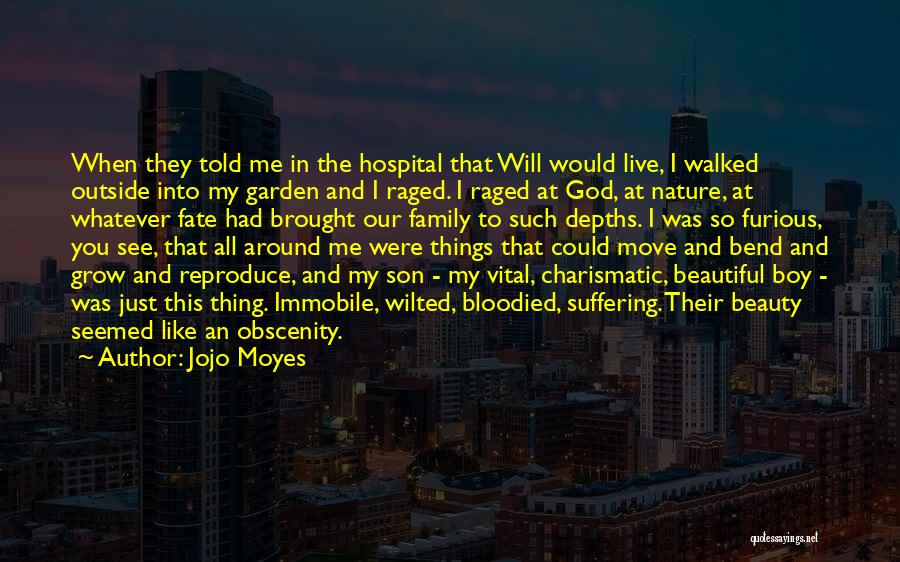 Nature And Family Quotes By Jojo Moyes