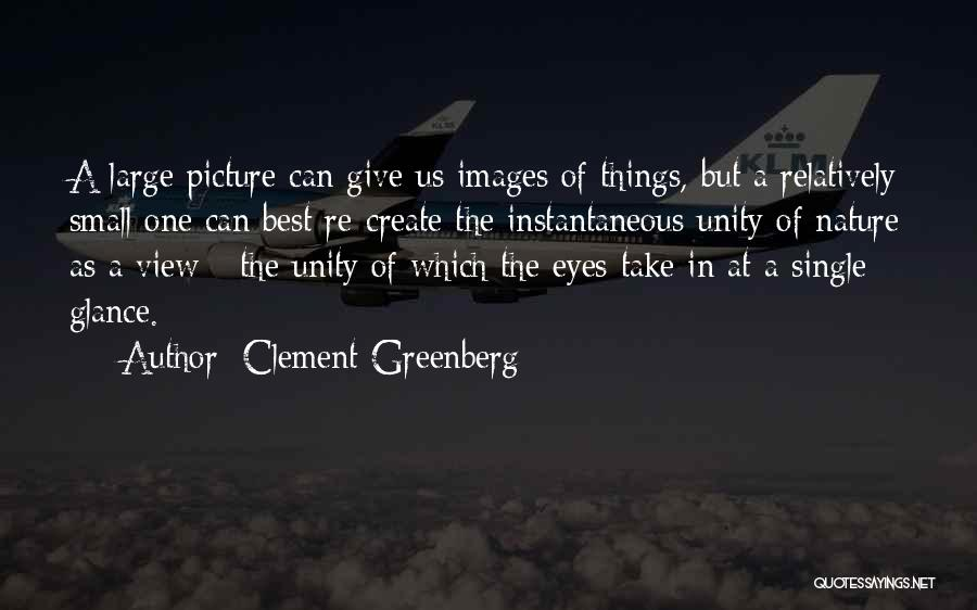 Nature Images Quotes By Clement Greenberg